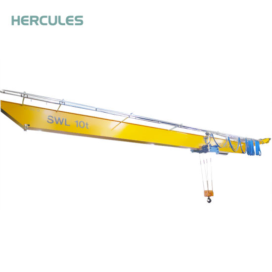 Machinery 10 Ton Mobile Overhead Crane Price with Remote Controlled Switch pictures & photos