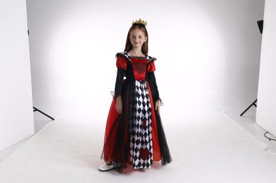 China 2018 New Stype Little Pretty Girl Halloween Dresses Kids