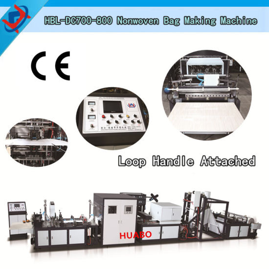 Full Automatic Non Woven Bag Making Machine in China