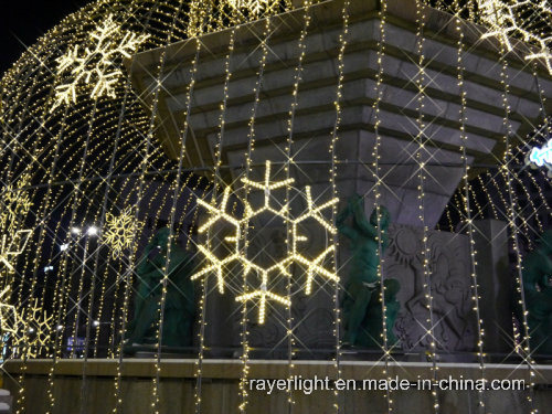 LED Snowflake Light Christmas Holiday Decoration pictures & photos