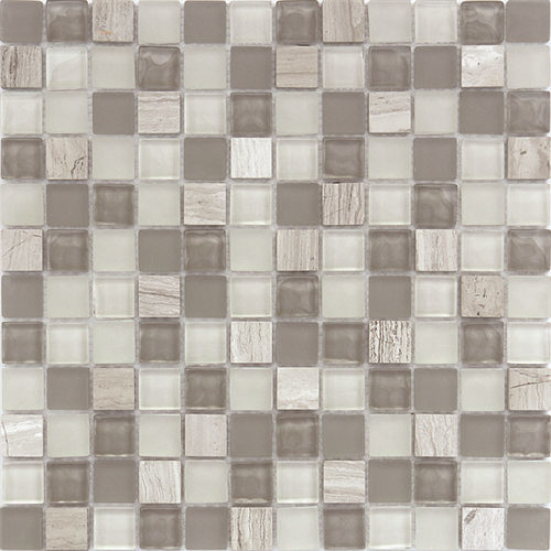 Modern 8mm Glass Crystal Mosaic for Bathroom pictures & photos