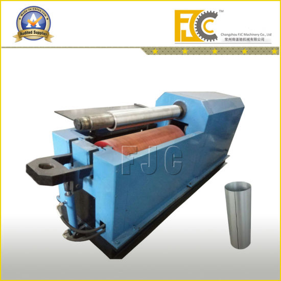 Hydraulic CNC Steel Drum One Rubber Shaft Rolling Bending Machine pictures & photos