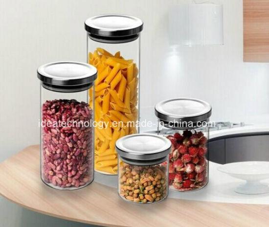 China Wholesale Decoration Glass Jar Candle Scented Candle Jar New Decorative Glass Jars With Lids Wholesale