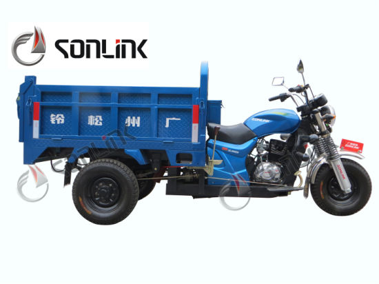 150cc/200cc/250cc Water/Air Cooled Automatic-Dumpting Three Wheel Motorcycle (SL200ZH-B) pictures & photos