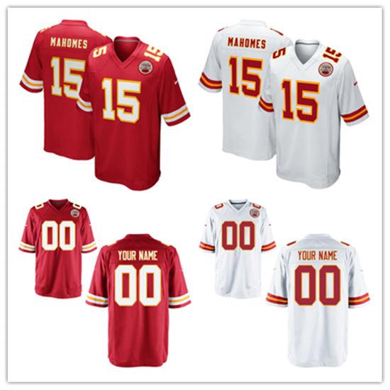 finest selection b0169 a931d China Custom Customized Chiefs Jerseys 15 Patrick Mahomes ...