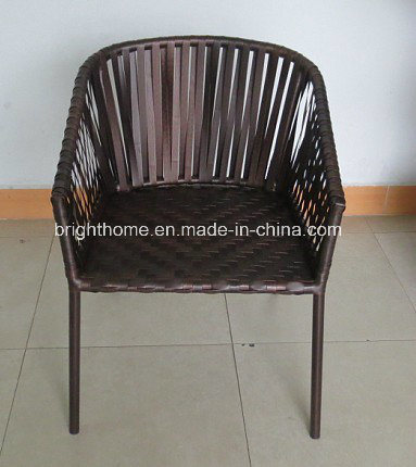 Wicker Patio Rattan Weaving Outdoor Dining Arm Chair pictures & photos