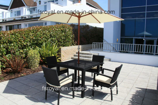 Hotel/Home Modern Table and Chair Aluminum Leisure Dining Set Outdoor Garden Patio Furniture