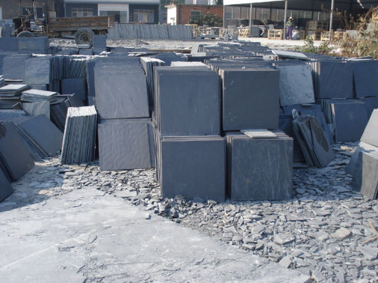 Cheappest China Black Slate Stone Tile pictures & photos