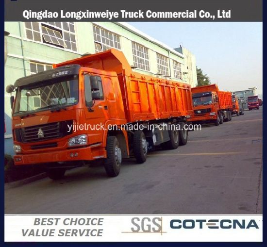 2016 Sinotruk HOWO 6X4 20ton Dump Truck
