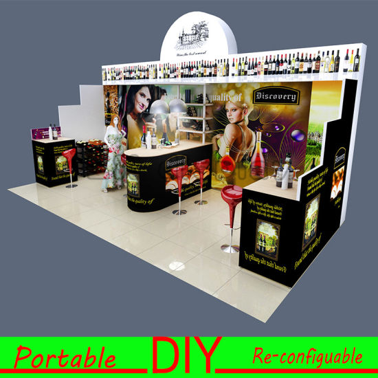 Fabric Exhibition Stand Goals : China portable exhibition trade show fabric popup display stand