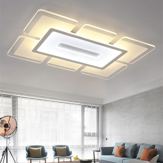 Ce Hight Quality Square Surface Acrylic Ceiling Mount LED Lamp pictures & photos