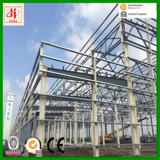 Pre-Engineered Steel Frame Warehouse