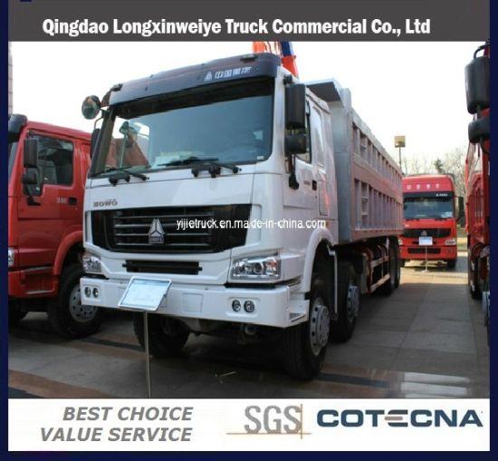 HOWO 8X4 371HP Heavy Duty Dump Truck