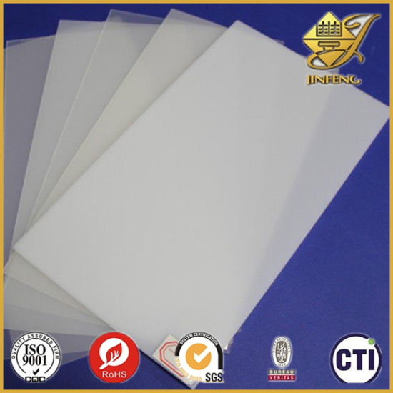 photo about Printable Plastic Sheet identified as Frosted Plastic Sheet Inkjet Printable PVC Plastic Sheet