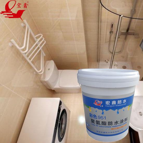 Bathroom Waterproof Material Polyurethane Paint