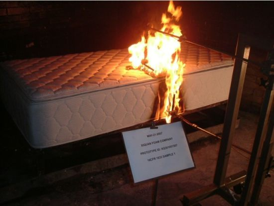 CFR1633 Fire Retardant Mattress (KMF006) pictures & photos