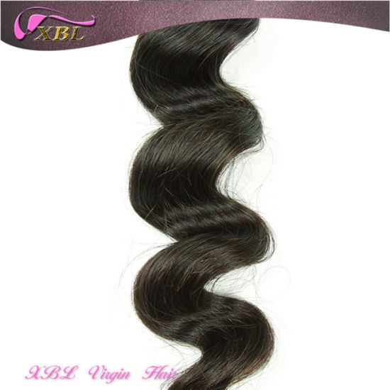 Xbl Virgin Peruvian Human Hair Wholesale Hair Weave Distributors pictures & photos