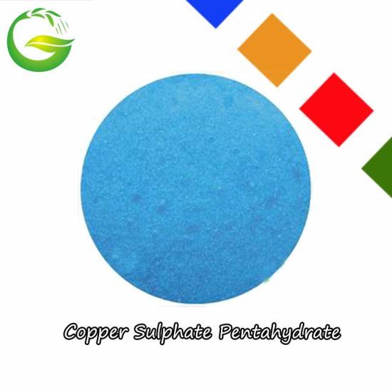 Chemical Soluble Copper Sulphate Pentahydrate pictures & photos