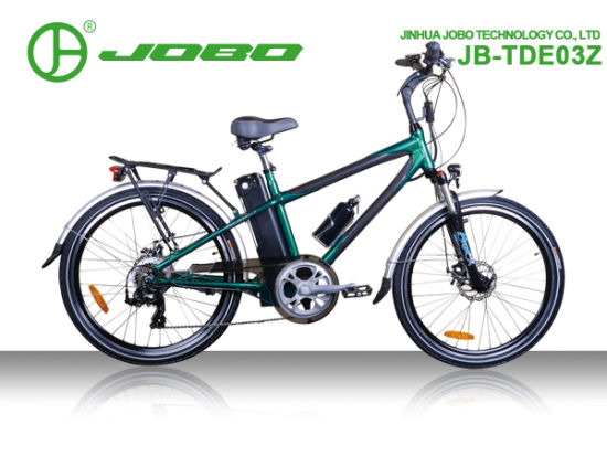 Classic Electric Mountain Bike for Man with Carbon Colour