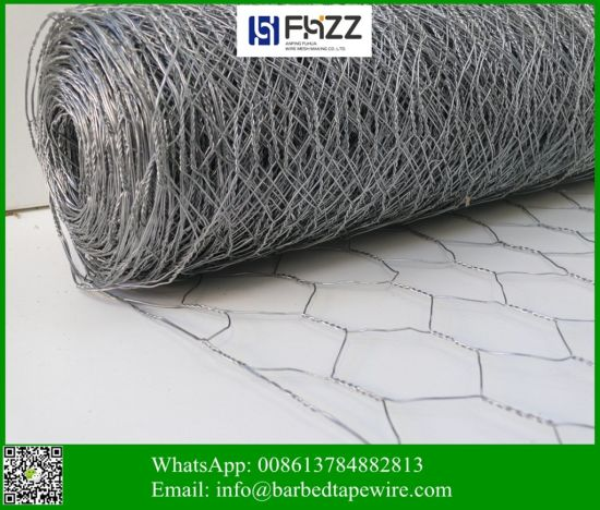 "3/8"" (9.5mm) Hexagonal Stainless Steel Fencing Chicken Wire"