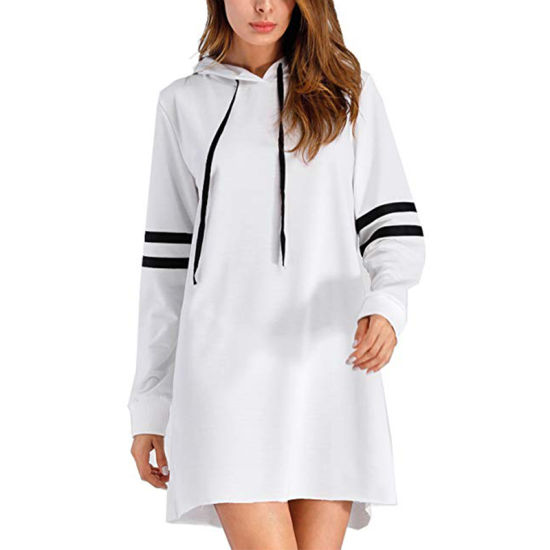 China Women′s Striped Long Sleeve Casual Pullover Hoodie Sweatshirt ... 2a3c3e5b73