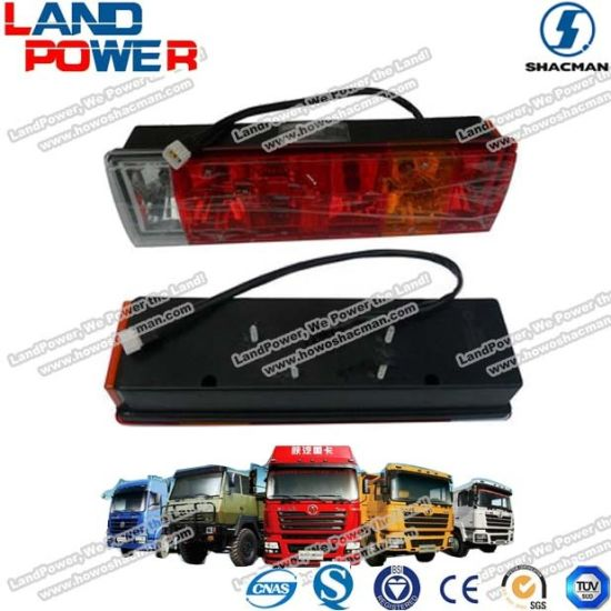 Shacman Truck Parts High Quality Tail Light R with SGS Certification
