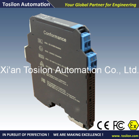 Analog Voltage Input Isolated Intrinsic Safety Barrier (ATEX Approved) pictures & photos