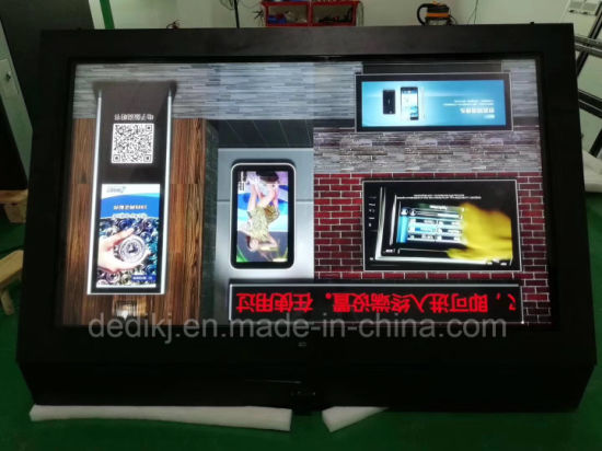 China Dedi 55inch Outdoor Waterproof Wall Mounted LCD Touch PC