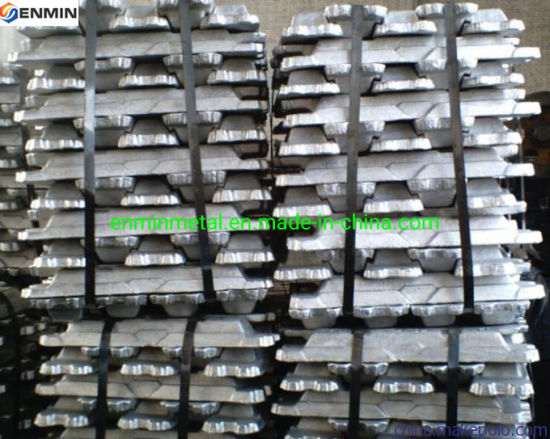 Chinese Mnufacturer High Purity Aluminum Alloy Ingot 99.97% with SGS Certification
