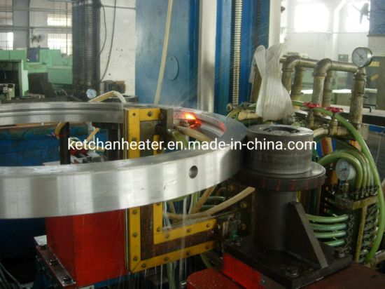Medium Frequency Quenching Equipment for Large Bearing Ring Inclined Vertical Raceway Heat Treatment