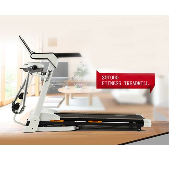 China Treadmill Factory Wholesale Running Exercise Machine Home Use Small Motorized Electric Treadmill