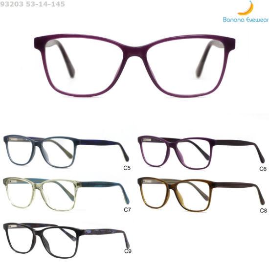 Hot Sell Popular Injection Acetate Wholesale Anti-Blue Light Optical Eyewear Frame for Unisex