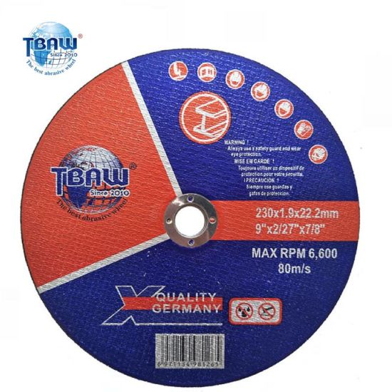 230mm 9 Inch Abrasive Cutting Discs Wheels for Metal Stainless Cutting
