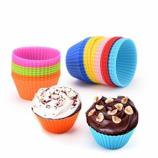 Mini Food Grade Silicone Baking Muffin Cake Cup