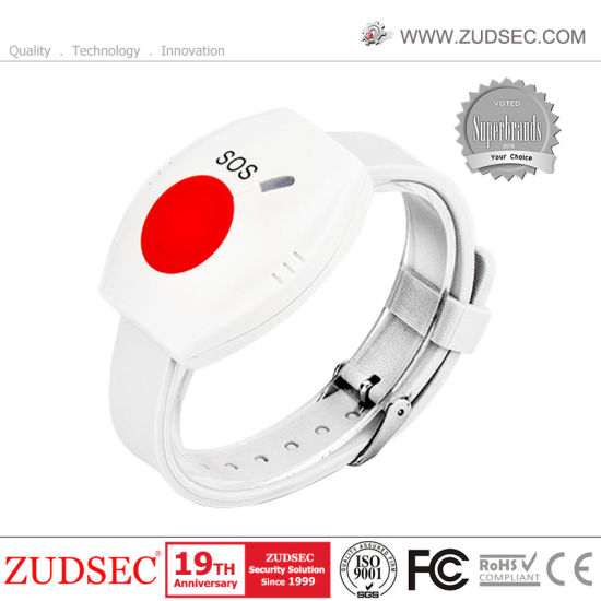 Waterproof Wireless Wrist Panic Button for Emergency Sos Alarm pictures & photos