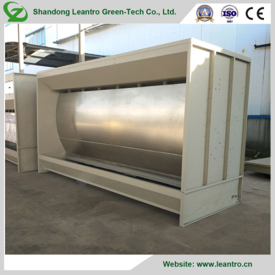 Simple Operator Water Curtain Paint Booth for Coating Powder Mist Cleaning (ZC-WPB4000)