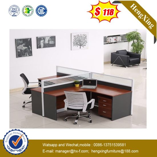 Hot Sell 2 Seats Office Cubicles Modern Computer Workstation Desk pictures & photos