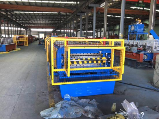 Double Layer Roll Forming Making Machine