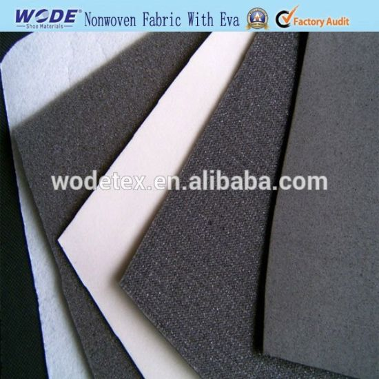 2019 Good Quality Nonwoven Fabric Laminated with EVA Foam for Shoe Making