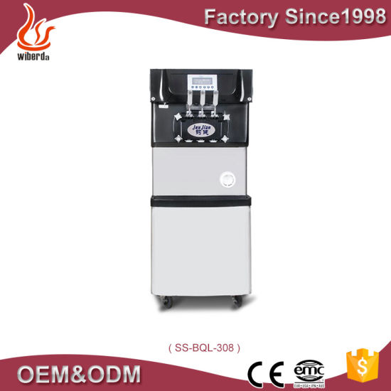 Frozen Yogurt Soft Ice Cream Making Machine