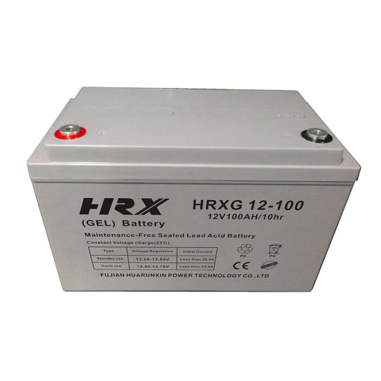 VRLA Lead Acid Gel12V100ah Battery for Solar System