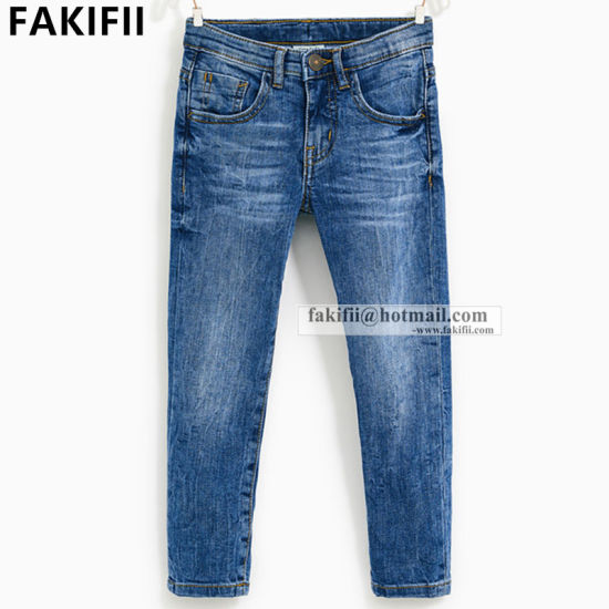 2021 New Design Wholesale Fashion Kid Apparel Children Jeans Wear