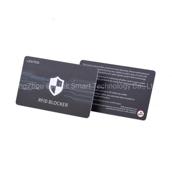 022da8449de8 RFID Blocking Card NFC Contactless Cards Protection, 1 Card Protects Your  Entire Wallet