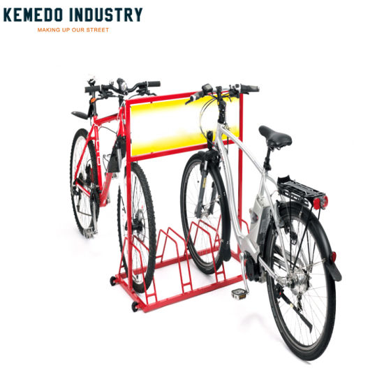 1c824abf207 Front Cycle Customize Logo Advertise Removable 3 Bike Rack for Road Bike