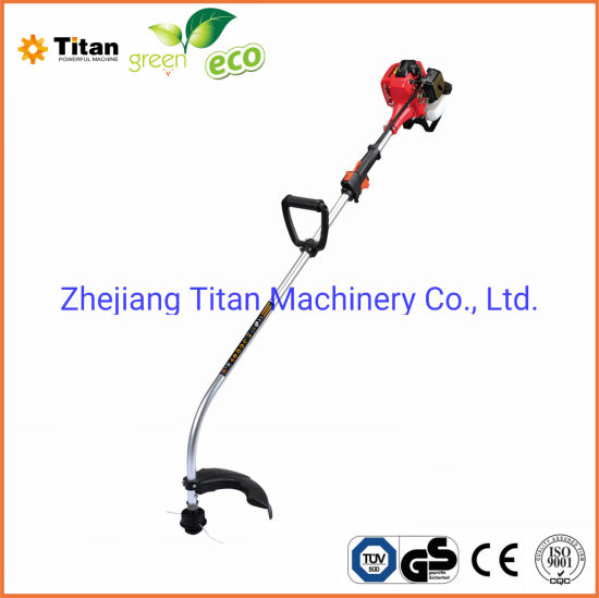 26cc Gasoline Garden Tools Brush Cutter with Curved Shaft (TT-BC260A)