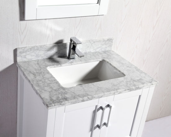 China 30 Solid Wood Bathroom Vanity With Marble Top For Usa China Bathroom Vanity Bathroom Vanities