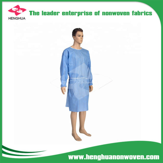 Polypropylene Cloth Non-Woven Cloth for Hospital Gown pictures & photos