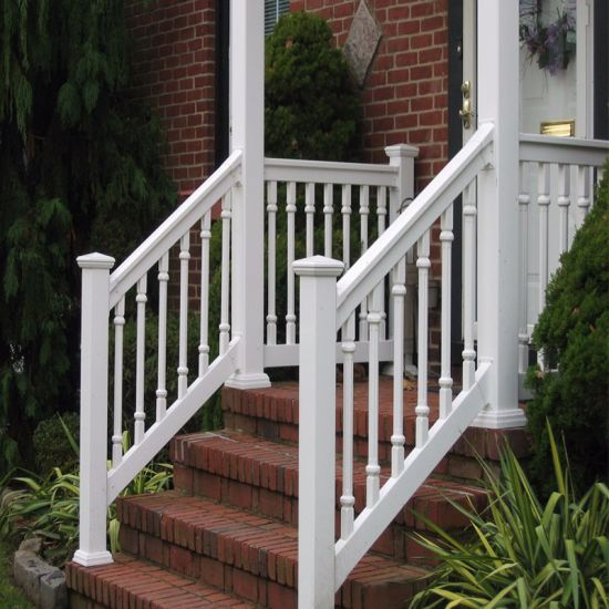 China Exterior Metal Stair/Aluminum Straight Stairs/Outdoor