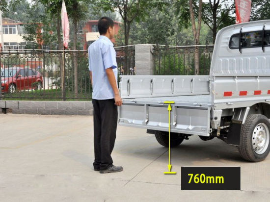 Lower Shipping Costs Mini Truck Pickup Type 1ton Lorry for Goods Transport pictures & photos