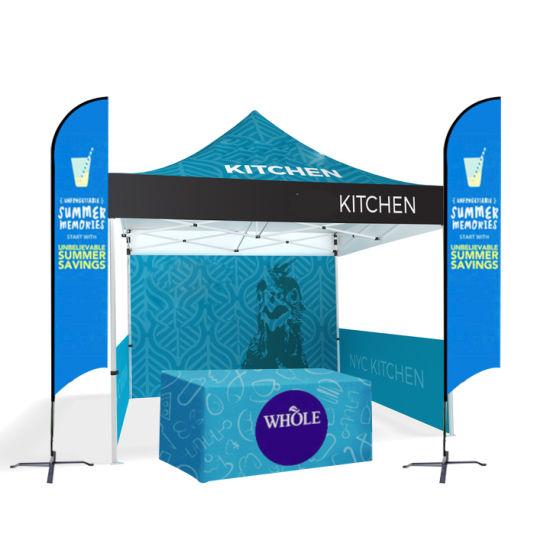 Custom 10X10 FT Advertising Aluminum Pole Folding Tent